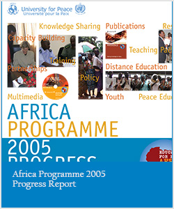 Africa Programme 2005 Progress Report