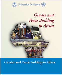 Gender and Peace Building in Africa