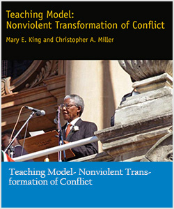 Teaching Model- Nonviolent Transformation of Conflict